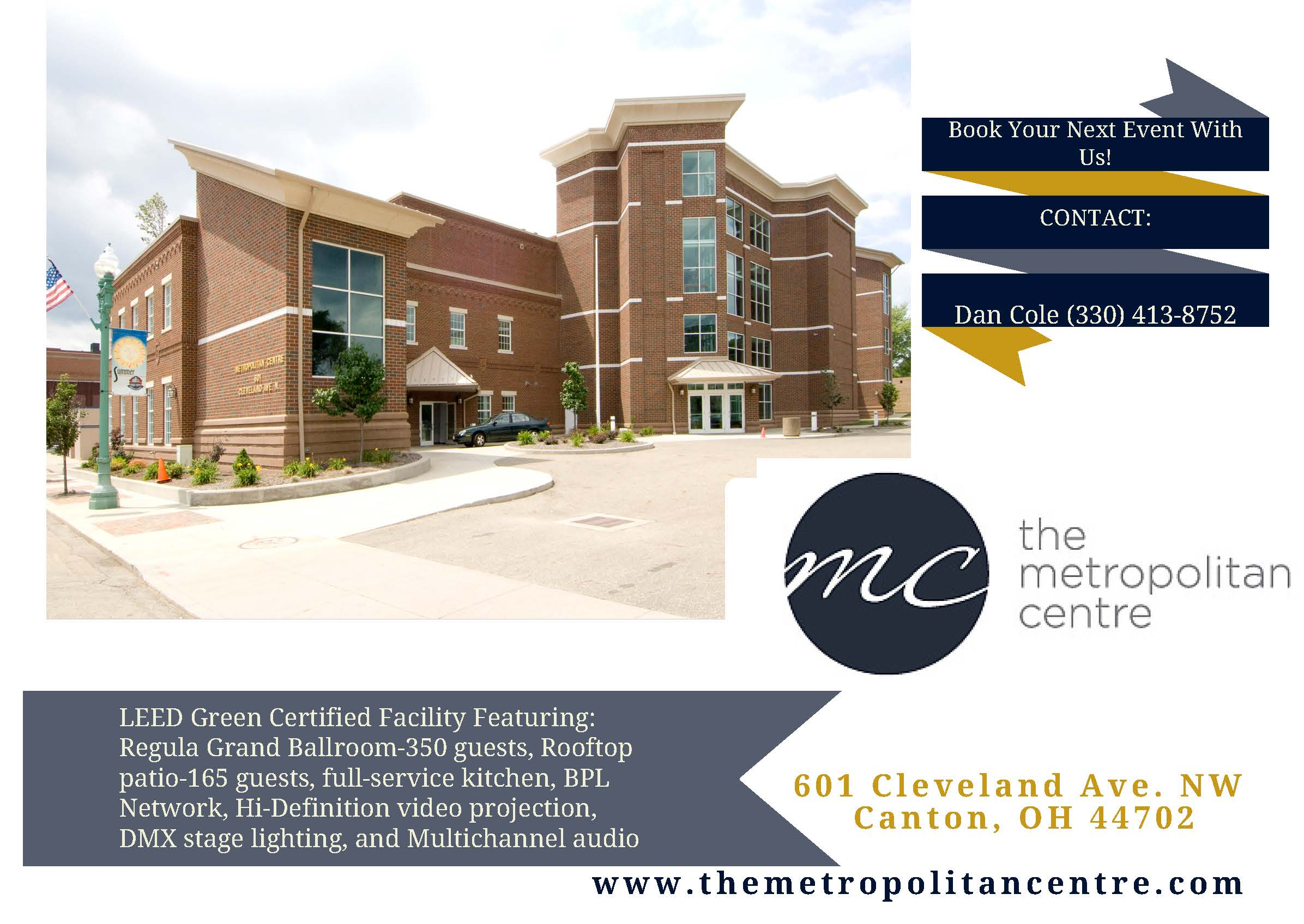 The Metropolitan Centre Launches NEW Website and Social Media