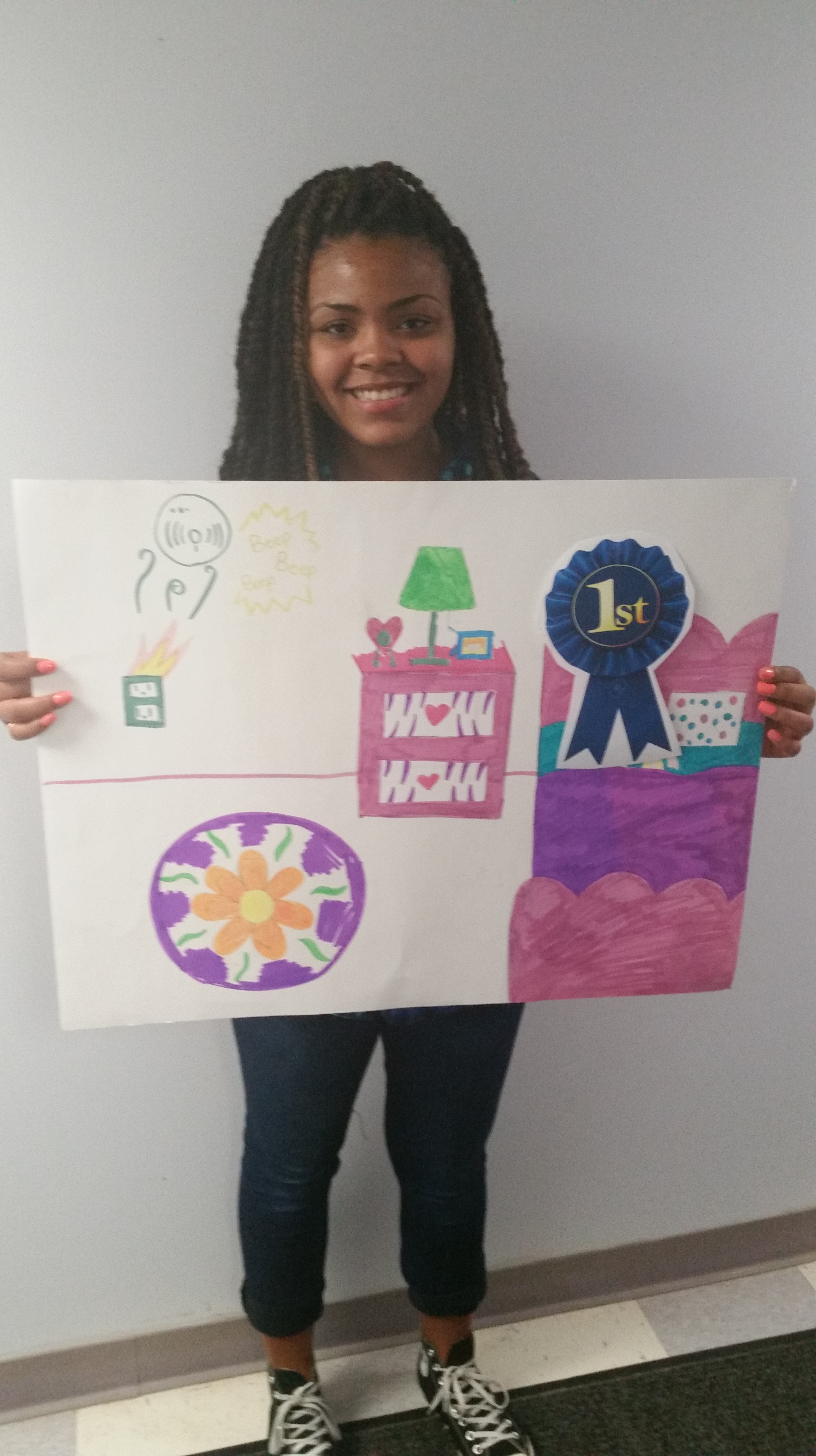 fire safety poster contest winners announced - stark metropolitan